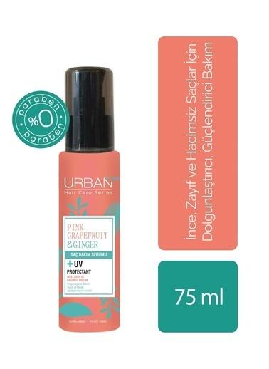 Urban Care Pembe Greyfurt & Zencefil İçeren Dolgunlaştırıcı Saç Serumu 75 Ml Renksiz
